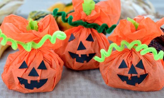ペーパークラフトかぼちゃランタン