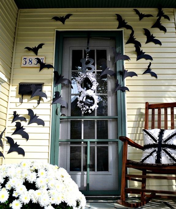 ハロウィン玄関デコレーション方法