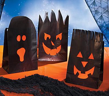 簡単かぼちゃランタンクラフト作り方