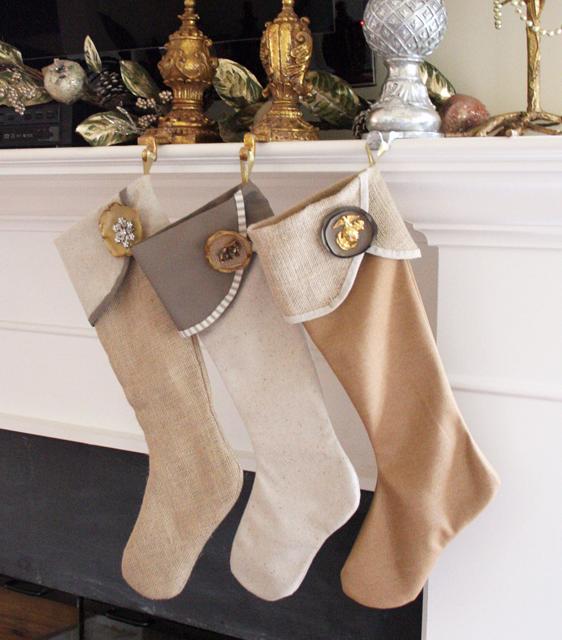 手作り豪華クリスマス靴下