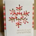 クリスマスカード切り絵型紙