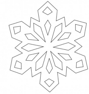 ... Photos - Simple Snowflake Patterns For Kids Free Printable Snowflake