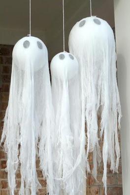 玄関お化け飾り手作り