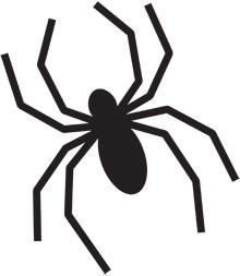 クモ蜘蛛テンプレート
