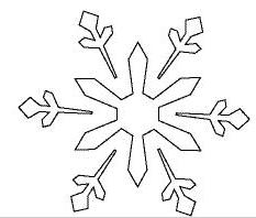 クリスマス切り絵作り方