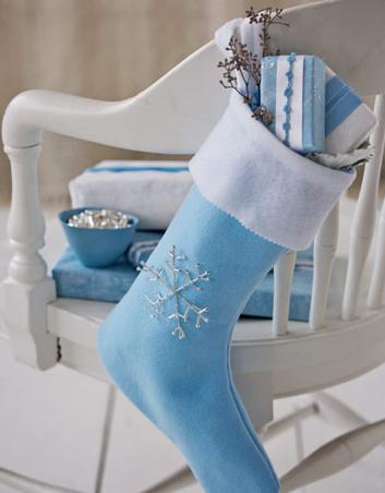 手作りクリスマス靴下