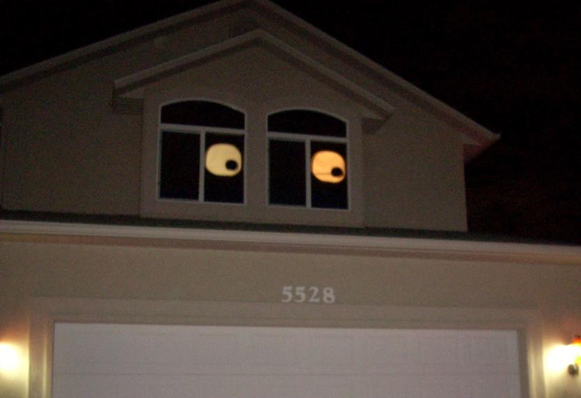 ハロウィーン窓飾りアイデア