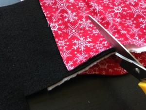 クリスマス手袋作り方