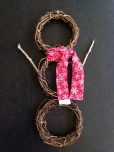 クリスマス飾りマフラー結び方