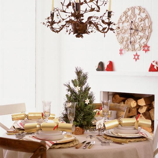 おしゃれクリスマステーブルコーディネイト