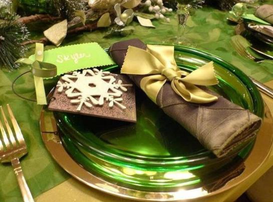 クリスマステーブル飾り付け実例