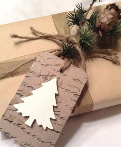 クリスマスプレゼント手作りタグ