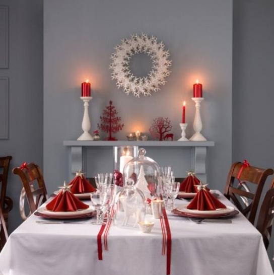 クリスマステーブル飾り方