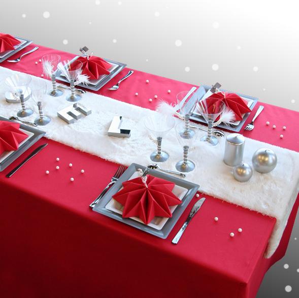 クリスマステーブルデコレーション例