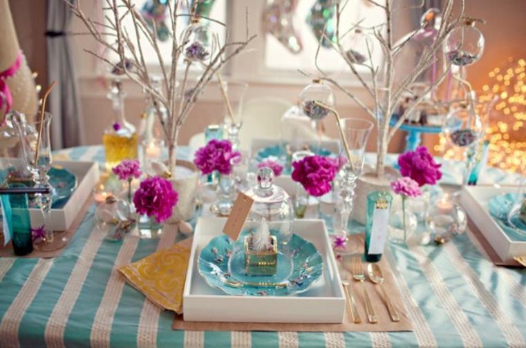 かわいいクリスマステーブル飾り付け例