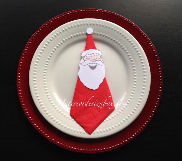 ナプキンリング作り方クリスマス