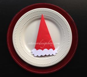 クリスマス簡単ナプキンたたみ方