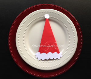 クリスマス手作りナプキンリング