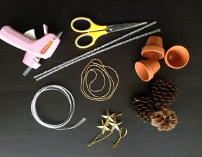 簡単手作りクリスマスツリー材料