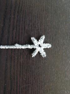 手作りクリスマスツリートップ星