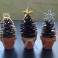 手作りおしゃれ卓上クリスマスツリー