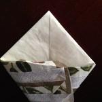 紙ナプキンポケット折り方