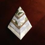 かっこいい紙ナプキン折り方