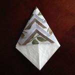 ポケット紙ナプキン作り方