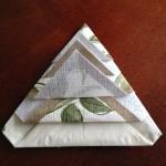 紙ナプキン立たせる方法