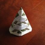 立体立つペーパーナプキン折り方
