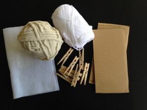 手作りひつじ干支飾り材料