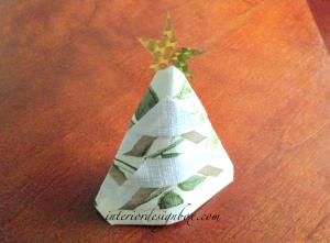 ペーパーナプキン折り方クリスマスおしゃれ