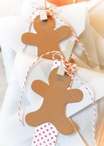 簡単手作りギフトタグクリスマス
