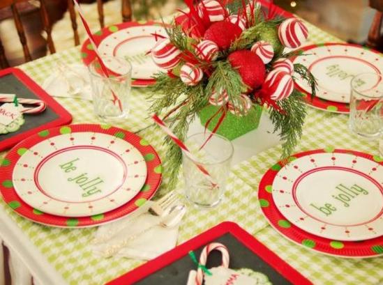 簡単クリスマス食卓コーデ