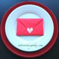 バレンタインナプキン折り方封筒