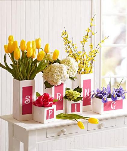 春玄関飾り方アイデア