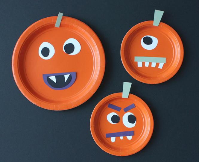 簡単かわいいハロウィンかぼちゃ工作