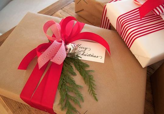 クリスマスリボン結び方