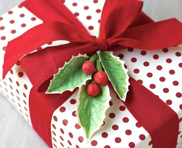 リボン結び方クリスマス