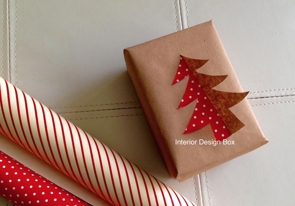 リボンなしプレゼントラッピング方法