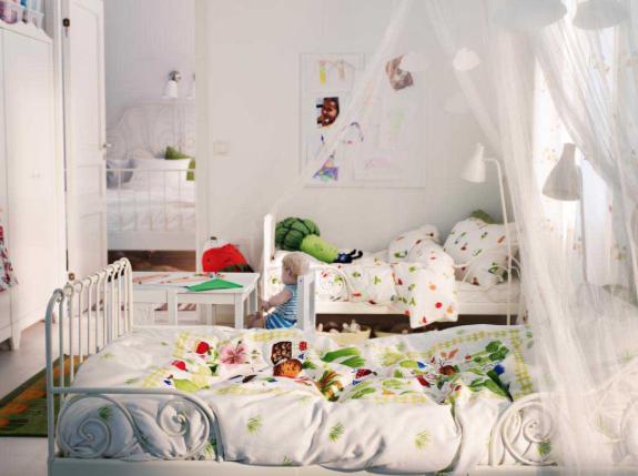 狭い子供部屋シェア