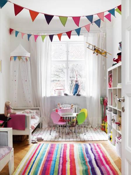 女の子子供部屋シェアアイデア