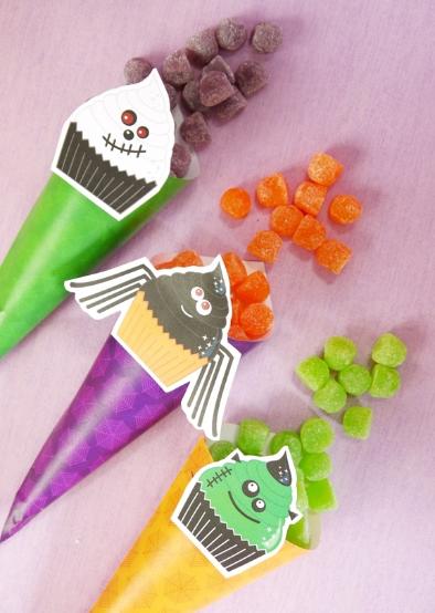 ハロウィンパーティお菓子アイデア