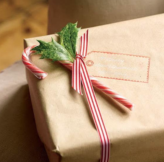 クリスマス簡単シンプルラッピング