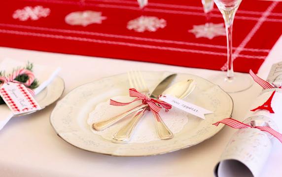 クリスマステーブル飾り付けやり方