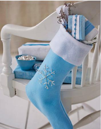手作りクリスマス靴下作り方