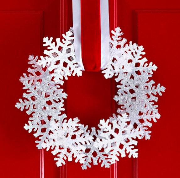 おしゃれなクリスマスリース作り方