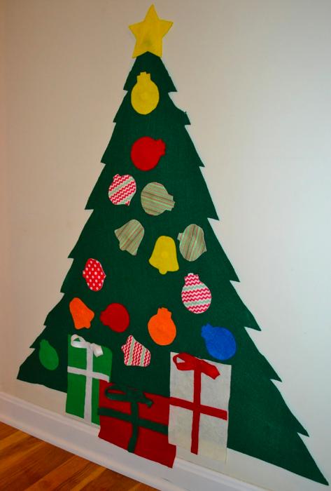 場所をとらないクリスマスツリー