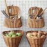 キッチン収納例の画像とアイデアいろいろ:壁・ゴミ箱・キャビネット裏