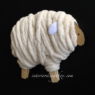手作りひつじの干支飾り作り方 簡単正月クラフト